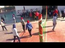 Embedded thumbnail for volleyball match ( Between Manaret El Bayan School & Omr Ibn El Khatab school )for secondary stage ( Girls )